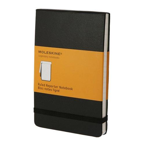 Фото - Блокнот Reporter Ruled Pocket, 96 листов, в линейку, черный блокнот moleskine reporter в линейку large черный