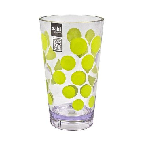 Стакан Dot Dot, зеленый zak designs мини тортница leaf white