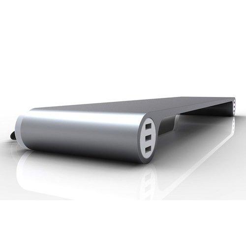 Подставка для монитора Spaсe Bar Aluminum с USB футболка print bar wwe кейн