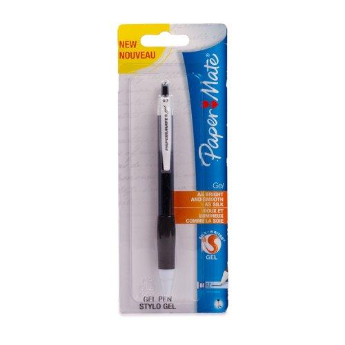 Гелевая ручка PM Gel, черная ручка berlingo techno gel grip гелевая черная 0 5мм