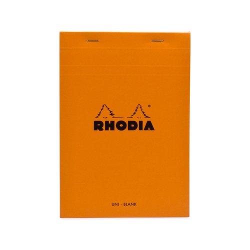 "Блокнот нелинованный ""Rhodia"" оранжевый А5 paulmann 70354"