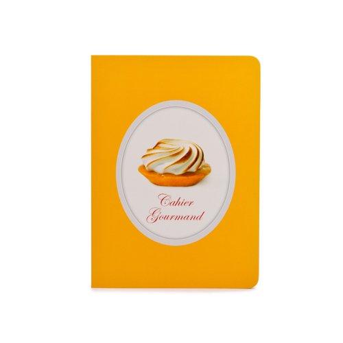 Тетрадь Лимонный пирог А5, в линейку, желтая kroyter тетрадь робин 48 листов в линейку