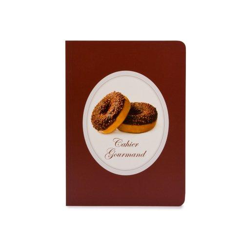 Тетрадь Пончики А5, в линейку, коричневая еж стайл тетрадь a little sleep любовь в линейку 38 листов