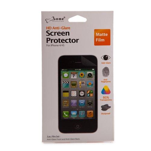 Покрытие защитное для iPhone 4/4S Protector матовое 60x 100x abs glass lens microscope for iphone 4 4s black