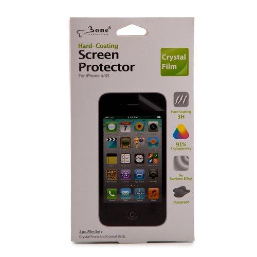 Покрытие защитное для iPhone 4/4S Protector прозрачное чехол для iphone 4 4s talking lila
