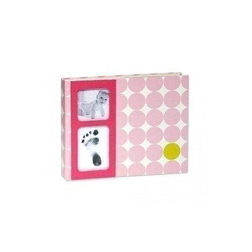купить Фотоальбом, розовый в горошек по цене 250 рублей