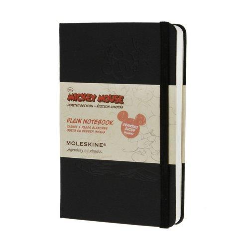 Записная книжка нелинованная Mickey Mouse черная Pocket Рlain записная книжка mickey mouse pocket в линейку черная