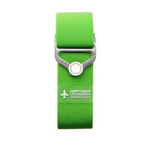 """Ремень для багажа на кнопке """"HF 2-Way Luggage Belt"""", зеленый"""