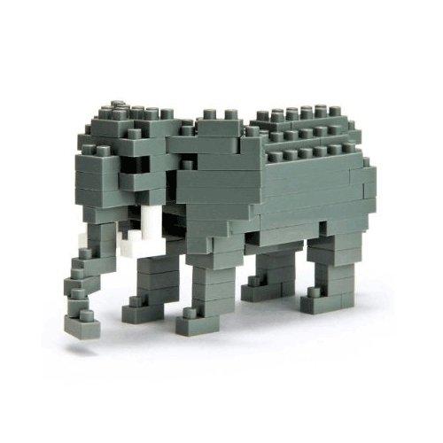"""Микро-конструктор """"Африканский слон"""" nanoblock африканский слон 130 элементов"""