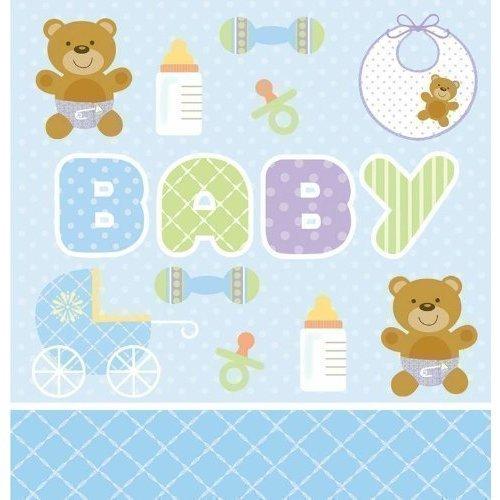 Скатерть Teddy Bear, голубая lovely huge bear toy plush toy cute big eyes bow stuffed bear toy teddy bear birthday gift white 160cm