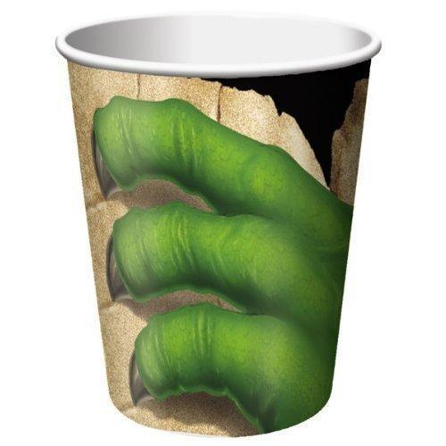 Набор стаканов Dino Blast, 8 шт. набор одноразовых стаканов buffet biсolor цвет оранжевый желтый 200 мл 6 шт