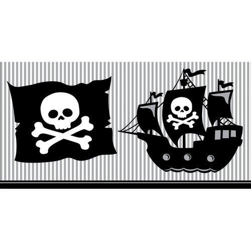 sima land скатерть бумажная с фломастерами наша дружная семья 110 х 150 см Скатерть Pirate Parrty