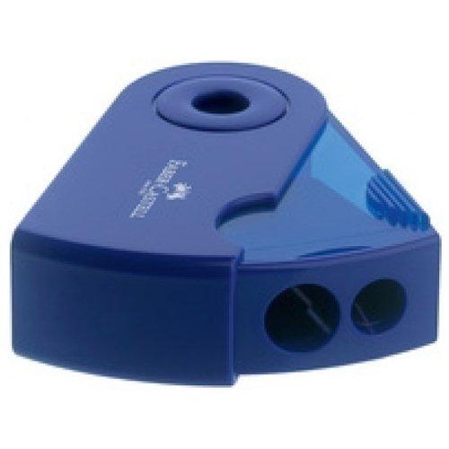 Точилка с контейнером точилка index iws410 пластик ассорти двойная с контейнером с резиновой вставкой 2 цв в ассортименте