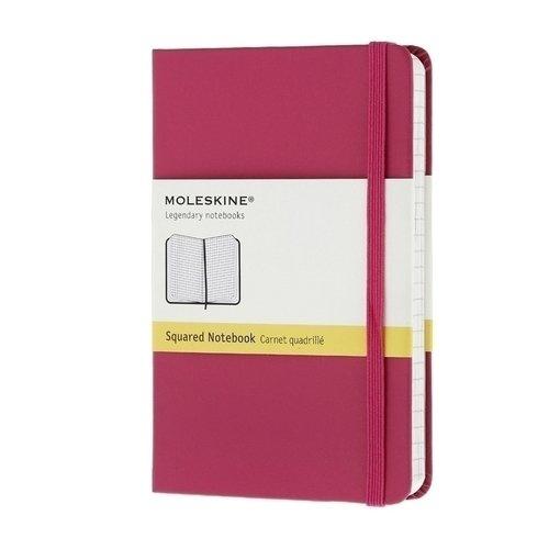 """Записная книжка """"Classic"""" Pocket, 192 стр., в клетку, розовая"""