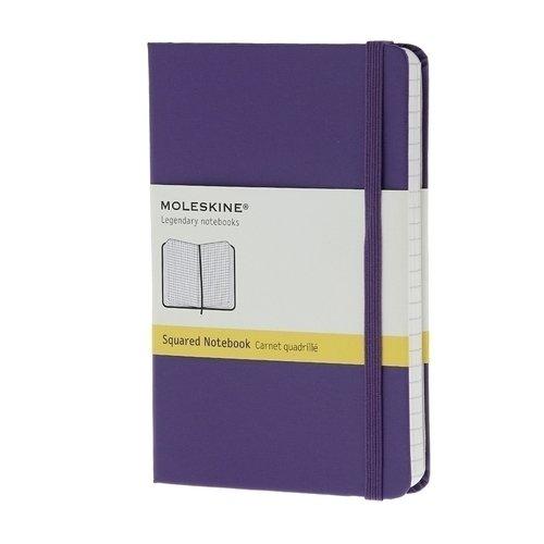 Записная книжка в клетку Classic фиолетовая Pocket записные книжки venuse 77005 набор подарочный записная книжка брелок