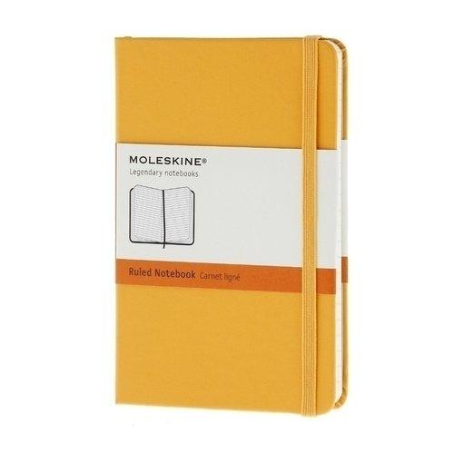 Записная книжка в линейку Classic желтая Pocket записные книжки venuse 77005 набор подарочный записная книжка брелок