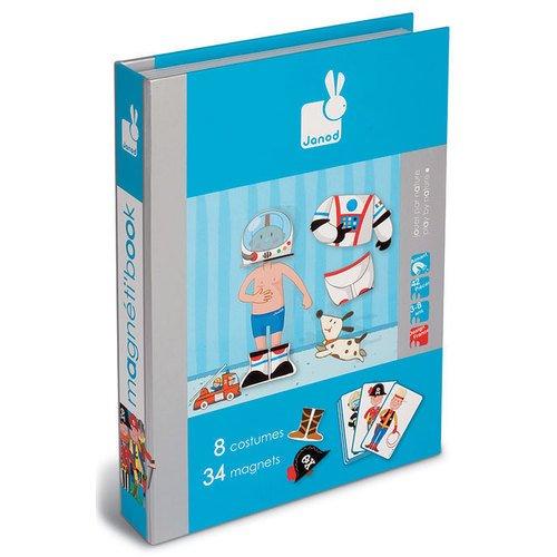 цена на Магнитная книга-игра Мальчишки в костюмах