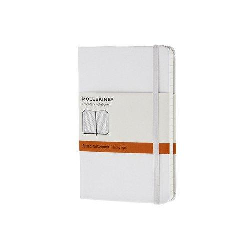 """Записная книжка """"Classic"""" Pocket, 192 стр., в линейку, белая"""