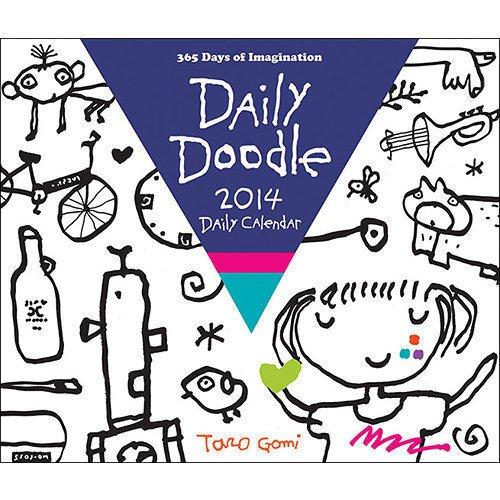 Календарь Daily Doodle 2014 Daily Calendar horse a portrait 2014 wall calendar