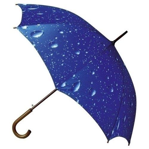 "Зонт ""Капли"", цвет Синий, размер 90 х 102"