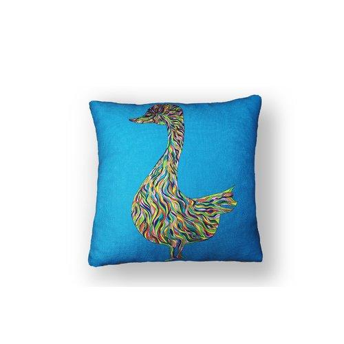 Подушка Гусь №3 подушка антистрессовая штучки к которым тянутся ручки дачница цвет голубой 40 x 30 см