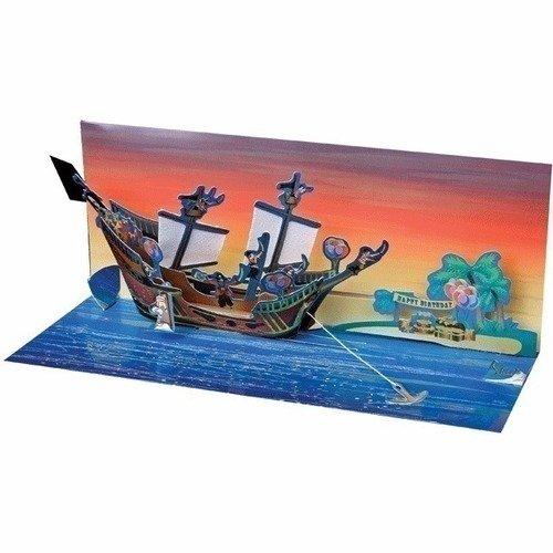 Открытка Пиратский корабль stikbot tst623p стикбот набор пиратский корабль