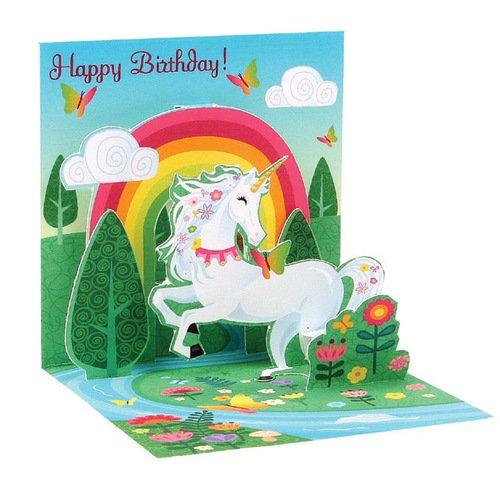 Единорог открытка игрушка для детей, марина