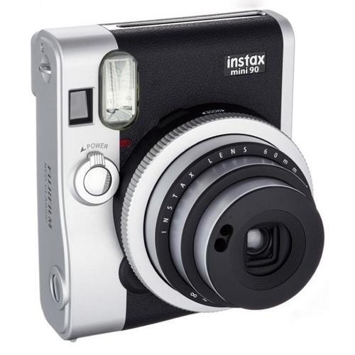 Фотоаппарат Instax Mini 90, черный фотоаппарат fujifilm 70 instax mini blue