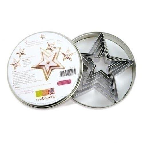 Набор форм для печенья Звезды набор форм для выпечки печенья atmosphere 50 шт
