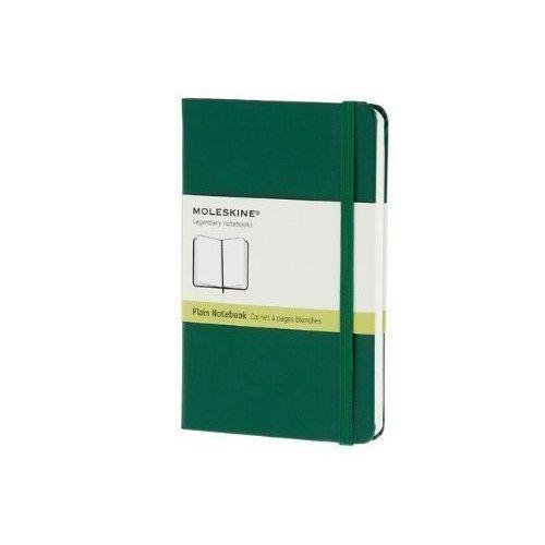 Записная книжка нелинованная Classic зеленая Pocket записная книжка нелинованная pocket лайм