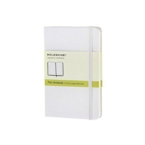Записная книжка нелинованная Classic белая Pocket записная книжка нелинованная pocket лайм