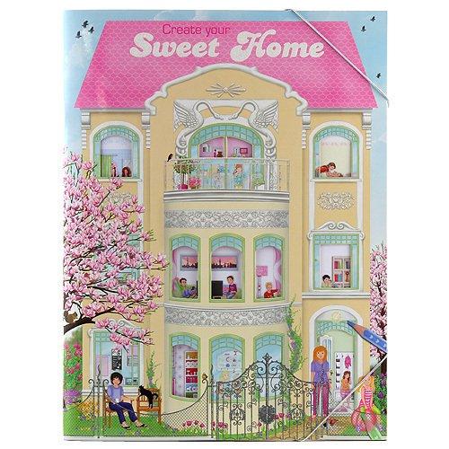 Книга для раскрашивания Create Your Sweet Home набор игровой для девочек keenway home sweet home