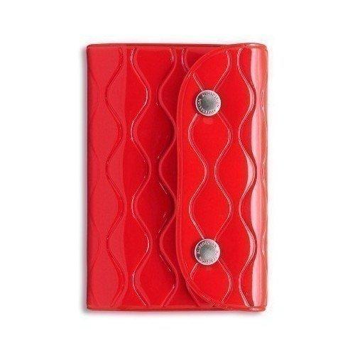 Визитница на кнопке NW Card Wallet, красная 2018 men long wallet zipper id credit card holder bifold purse top brand clutch wallet pockets promotion gift
