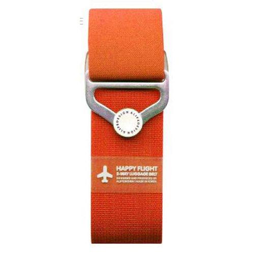 """Ремень для багажа на кнопке """"HF 2-Way Luggage Belt"""", оранжевый"""