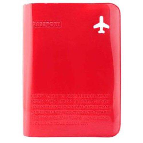 Обложка для паспорта с карманом красная CF-080 цена