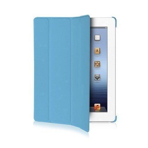 купить Чехол-книжка для iPad Mini голубая онлайн