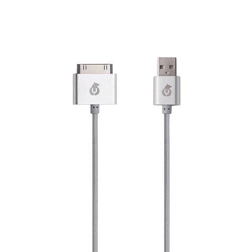 "USB-кабель ""Cable"" серый ubear кабель юсб светло голубой dc02lb01 i4"