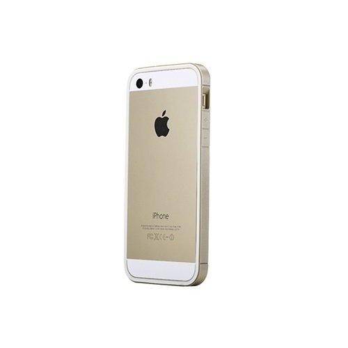 """Бампер """"Extra Thin Bumper Gold"""" для iPhone 5/5S золотой"""