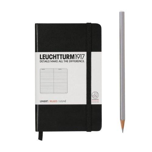 Фото - Записная книжка в линейку Pocket Ruled черная блокнот reporter ruled pocket 96 листов в линейку черный