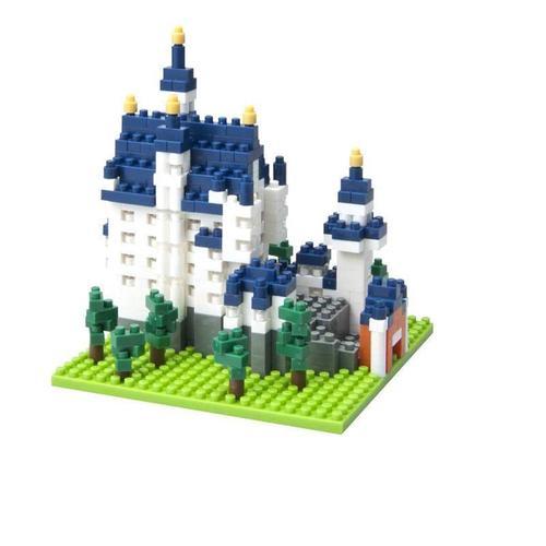 "Микро-конструктор ""Schloss Neuschwanstein"" конструктор nanoblock самолет p 51 мустанг"