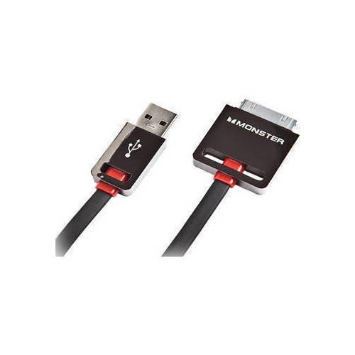 Кабель Cable iCable Dock Connect, 1 м, черный кабель partner usb 2 0 microusb apple 8pin 2 в 1 2 1 a 1 м