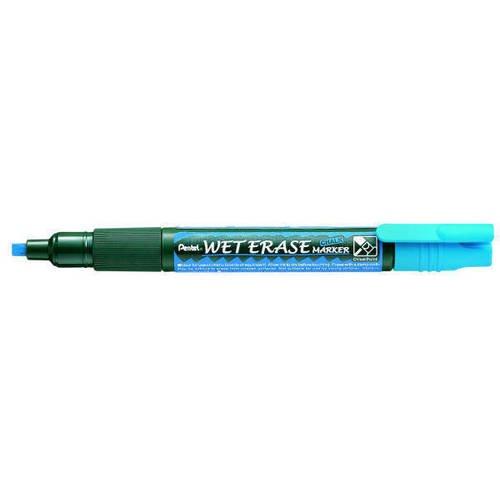 Маркер на водной основе Wet Erase Marker, синий мел жидкий белый wet erase smw56 w
