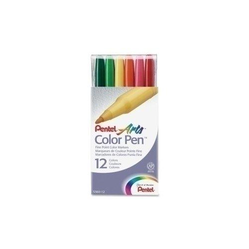 """Фломастеры """"Color Pen"""", 12 цветов"""