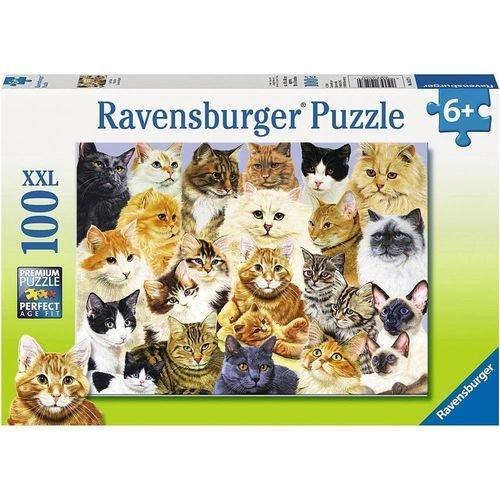 Пазл «Парад кошек» 100