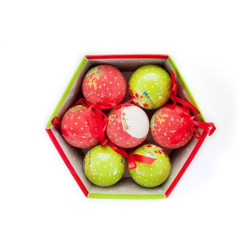 """Новогодние шары """"Санта"""""""