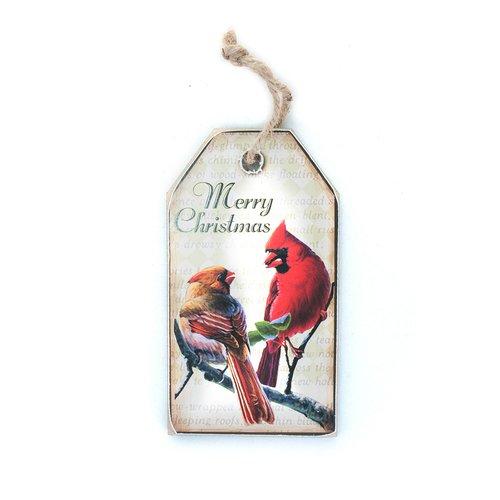 """Новогоднее украшение """"Табличка с птичками"""""""