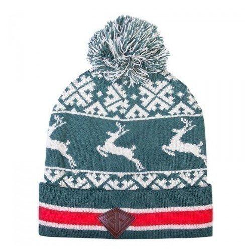Шапка Deer Beanies, зеленая шапка r mountain цвет синий 77 071 06 размер универсальный