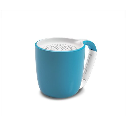 Портативный беспроводной аудио динамик Espresso Cyan голубой dynaudio музыка 3 bluetooth wifi беспроводной аудио мини портативный динамик телефона airnight midnight blue a