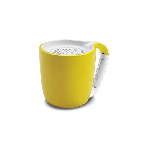 Портативный беспроводной аудио динамик Espresso Yellow желтый dynaudio музыка 3 bluetooth wifi беспроводной аудио мини портативный динамик телефона airnight midnight blue a