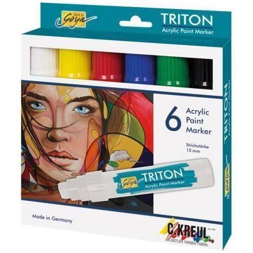 цена на Набор акриловых маркеров Triton